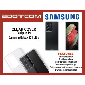 Original Samsung Clear Cover for Samsung Galaxy S21 Ultra