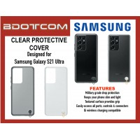 Original Samsung Clear Protective Cover for Samsung Galaxy S21 Ultra