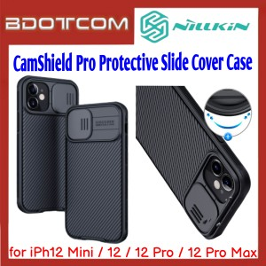 Nillkin CamShield Pro Protective Slide Cover Case for Apple iPhone 12 Mini / iPhone 12 / iPhone 12 Pro / iPhone 12 Pro Max