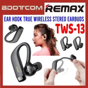 Remax TWS-13 Ear Hook True Wireless Stereo Earbuds for Samsung / Apple / Xiaomi / Huawei / Oppo / Vivo / Realme / OnePlus