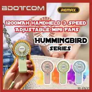 Remax RL-FN30 Hummingbird series 1200mAh Handheld 3 Speed Adjustable Mini Fans