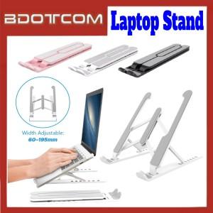 [ Ready Stock ] Anti-Slip Adjustable Foldable Laptop Desktop Stand Holder for Laptop / Macbook Pro / iPad / Samsung / Apple / Xiaomi / Huawei / Oppo / Vivo / OnePlus / Realme