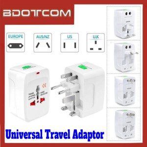 [ Ready Stock ] All In One Universal Travel Adaptor for Samsung / Xiaomi / Huawei / Oppo / Vivo / Realme / OnePlus