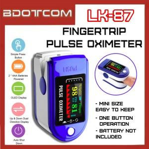 [Ready Stock] Mini Portable Finger Oximeter Fingertip PulseOximeter Medical Equipment With LED