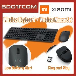 [Ready Stock] Xiaomi 2.4G Wireless 104-Key Keyboard + Wireless Mouse Set