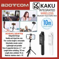 [READY STOCK] KAKU KSC-344 Multifunctional Integrated Wireless Bluetooth Tripod Selfie Stick with Remote Control suitable for Youtuber, TikTok, Smule, Influencer, Online Study, Home Schooling, Video Streaming, ZOOM Meeting, Google Meet and etc