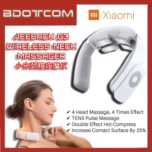 [Ready Stock] Xiaomi Jeeback G3 TENS Pulse Relieve 5 Massage Mode Wireless Neck & Shoulder Massager 小米颈椎按摩仪