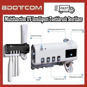 [Ready Stock] Multifunction Wall Mount Smart Automatic UV Intelligent Toothbrush Sterilizer