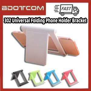 [Ready Stock] 302 Universal Folding Adjustable Mobile Phone Holder Bracket for Samsung / Xiaomi / Huawei / Oppo / Vivo / Realme / OnePlus