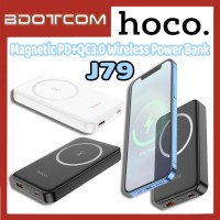 [Ready Stock] Hoco J79 Magnetic PD+QC3.0 Single USB Port Wireless 10000mAh Fast Charge Power Bank for Samsung / Xiaomi / Huawei / Oppo / Vivo / Realme / OnePlus