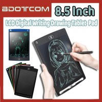 [Ready Stock] 8.5 Inch LCD Digital Writing Drawing Tablet Board Pad with Pen for Kid / Children /  Office / Class / Business Meeting / Presentation