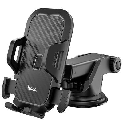 [Ready Stock] Hoco CA76 Touareg One-Touch Center Console Dashboard Car Mount Phone Holder for Samsung / Huawei / Xiaomi / Oppo / Vivo / Toyota / Honda / Mazda / Proton / Perodua, BMW / Benz Mercedes