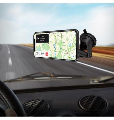 [Ready Stock] Hoco CA67 Sagittarius Series Stretch Magnetic Dashboard Car Mount Phone Holder for Samsung / Huawei / Xiaomi / Oppo / Vivo / Toyota / Honda / Mazda / Proton / Perodua, BMW / Benz Mercedes