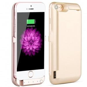External Battery Case 10000 mAh Power Bank for Apple iPhone 7 (Gold)