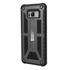 UAG Monarch Series Military Grade Protection Case for Samsung Galaxy S8+ (Graphite)