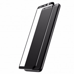 Samsung Galaxy S8 Plus Baseus 3D Arc Edge 0.3mm Tempered Glass (Black)