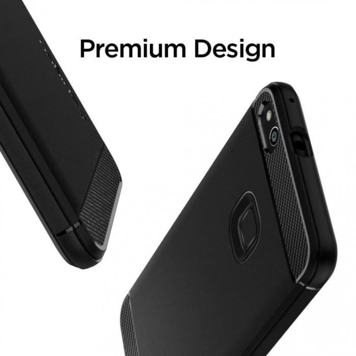 huge discount 6af62 5e3c1 Spigen Rugged Armor Case for Huawei P10 Lite (Black)