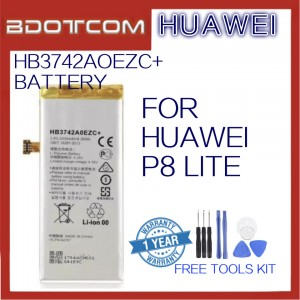 Huawei Replacement Battery HB3742AOEZC+ For Huawei P8 Lite With Tools Kit