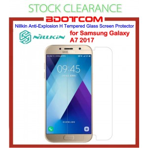 [CLEARANCE] Nillkin Amazing H Anti Explosion Tempered Glass for Samsung Galaxy A7 2017 (Clear)