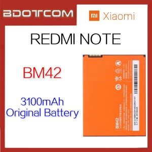 Original Xiaomi Redmi Note / HongMi Note BM42 3100mAh Lithium Polymer Rechargeable Battery