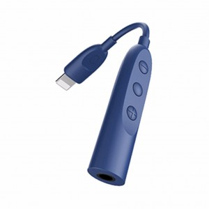 Baseus B45 Liper Lightning To 3.5mm Adapter Cable (Blue)