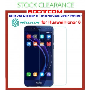 [CLEARANCE] Nillkin Amazing H Anti Explosion Tempered Glass Screen Protector for Huawei Honor 8 (Clear)