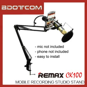 Original Remax CK100 Mobile Recording Studio Set for Mobile Phone