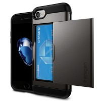 Spigen Slim Armor CS Case for Apple iPhone 7 (Gunmetal)