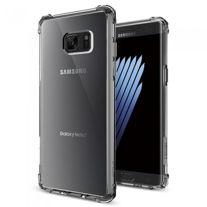 Spigen Crystal Shell Case for Samsung Galaxy Note FE (Dark