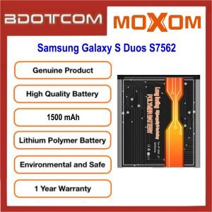Original MOXOM High Capacity Battery 1500 mAH for Samsung Galaxy S Duos S7562