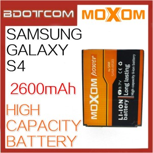 Moxom Replacement Battery for Samsung Galaxy S4