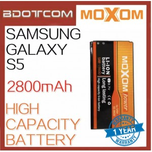 Moxom Replacement Battery for Samsung Galaxy S5