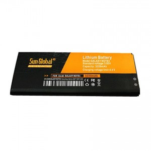 High Capacity Sun Global Battery for Samsung Galaxy Note 4