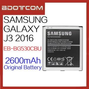 Original Samsung Galaxy J3 2016 2600mAh Standard Battery (EB-BG530CBU)