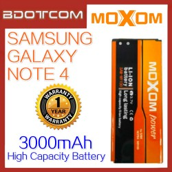 Moxom Replacement Battery for Samsung Galaxy Note 4