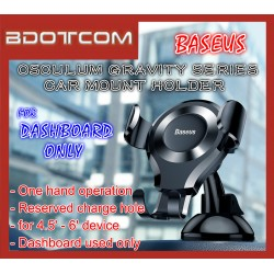 Baseus Osculum Type Gravity Car Mount Phone Holder