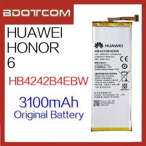 Original Huawei Honor 6 3100mAh HB4242B4EBW Standard Battery