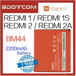 Replacement Battery BM44 For Xiaomi Redmi 1 / Redmi 1S / Redmi 2 / Redmi 2A Battery