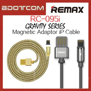 Original Remax RC-095i Gravity series Magnetic Adaptor Lightning Cable