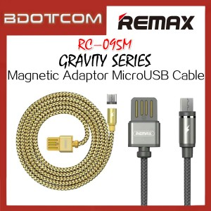 Original Remax RC-095m Gravity series Magnetic Adaptor MicroUSB Cable