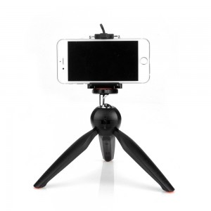 Original Yunteng YT-228 Tripod Mount with Phone Holder Clip