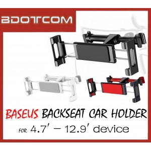 Baseus 360' Rotation Car Backseat Car Mount Phone Holder Tab Holder iPad Holder for 4.7' - 12.9' Device