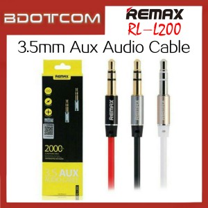 Original Remax RL-L200 3.5mm Aux Audio 2000mm Cable
