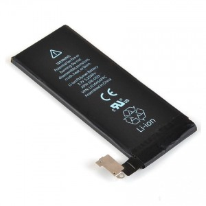 Apple 1420mAh Li-Polymer Battery for iPhone 4 (Black)
