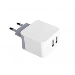 Avantree- TR205 15.5W Dual USB Port Wall Charger White