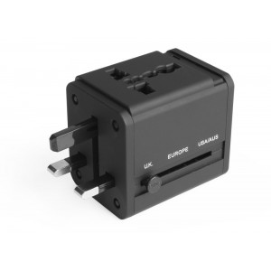 Avantree Universal AC Travel Plug & USB Charger