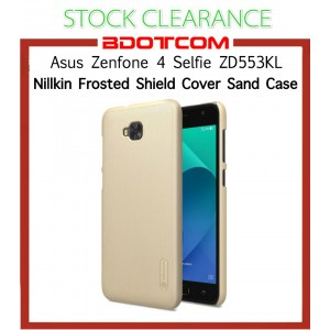 [CLEARANCE] Asus Zenfone 4 Selfie ZD553KL Nillkin Super Frosted Shield Cover Sand Case