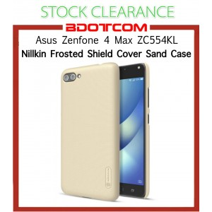 [CLEARANCE] Asus Zenfone 4 Max ZC554KL Nillkin Super Frosted Shield Cover Sand Case