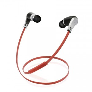 iTech MusicBand 811 Stereo Bluetooth Headset - Red