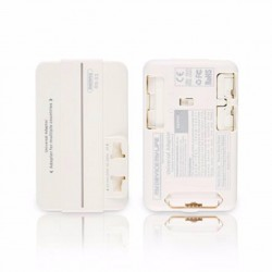Orignal Remax RS-X1 Unbounded Dual USB Multifunctional Travel Adaptor (White)